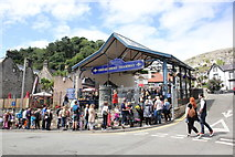 SH7782 : Queuing for the Great Orme Tramway by Jeff Buck