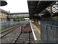 J0406 : A Victorian overhead walkway at Clarke Station. Dundalk by Eric Jones