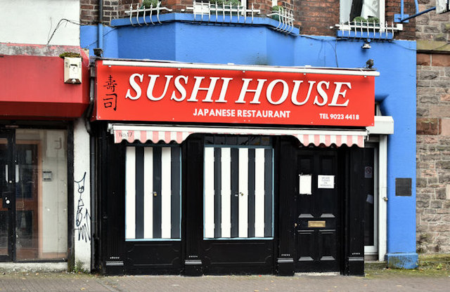 Sushi House, Belfast (August 2016)