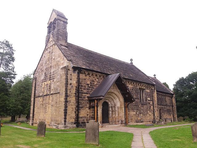 St John the Baptist, Adel - west end