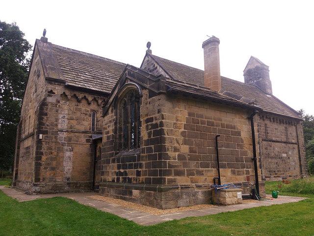 St John the Baptist, Adel - east end