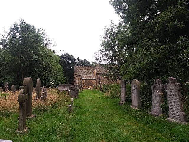 St John the Baptist, Adel - churchyard
