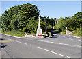 NX0054 : The War Memorial at Portpatrick by David Dixon