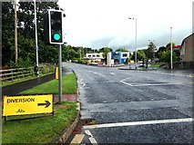 H4573 : B48 road, Omagh by Kenneth  Allen
