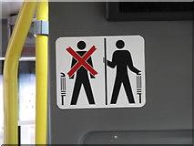 J0407 : Bus Eireann Passenger Safety Notice by Eric Jones