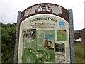 NZ3845 : Interpretation board, South Hetton by Richard Webb