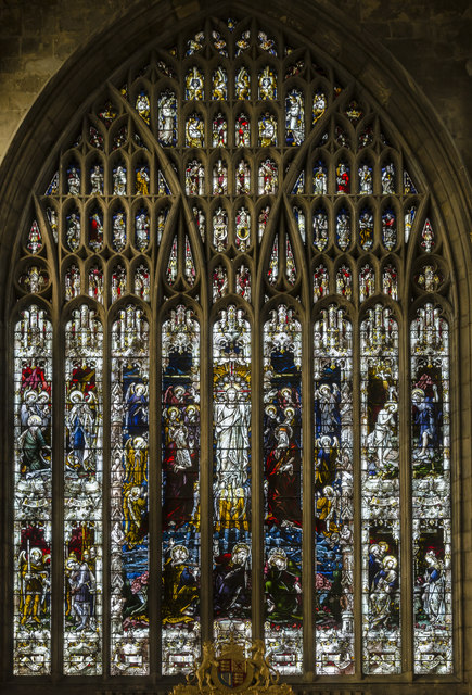 West window, Holy Trinity church, Hull