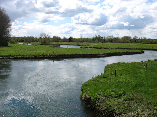 The River Thames, downstream from Lechlade