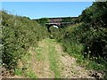 SC2886 : Bridge over the former Manx Northern Railway by Christine Johnstone
