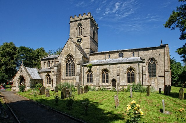 The Church of St Swithin, Bicker