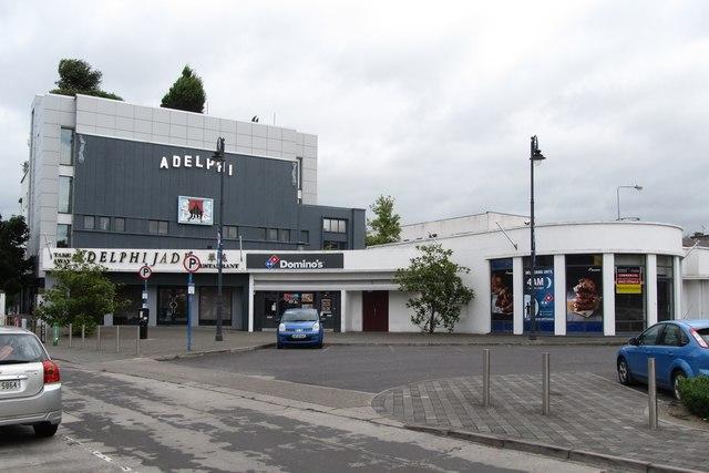 The former Adelphi Dance Hall, Dundalk