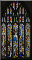 TA0928 : Stained glass window, Holy Trinity church, Hull by Julian P Guffogg