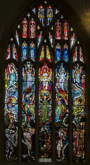 Psalm 148 window, Holy Trinity church, Hull