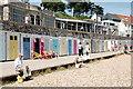 SY3391 : More beach huts, Lyme Regis by Bill Harrison