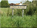 TM0789 : Doe Lane sign by Adrian Cable