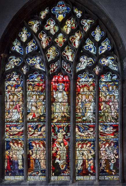 Smithson window, Holy Trinity church, Hull