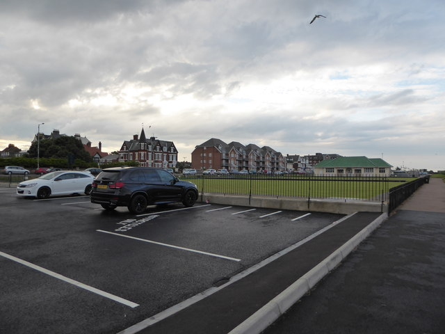 Car park by the bowling green