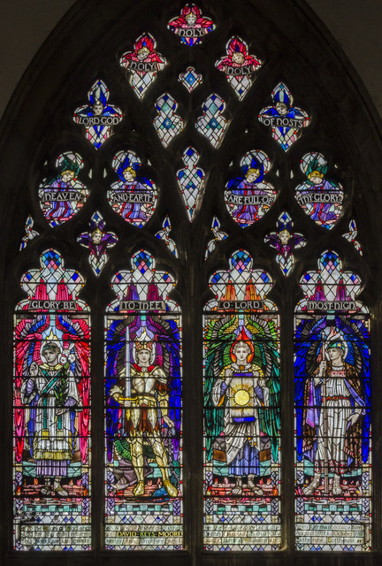 Lille window,Holy Trinity church, Hull