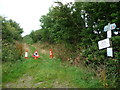 SC3089 : Byway on the former railway at Ballaleigh Road by Christine Johnstone