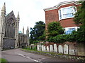 TG5208 : Great Yarmouth Minster: churchyard (xi) by Basher Eyre
