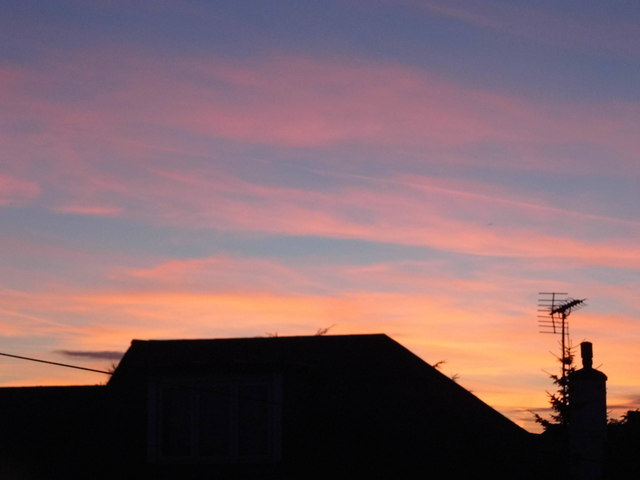 Sunrise over Kingsbury