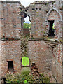 NY5329 : Brougham Castle Keep by David Dixon