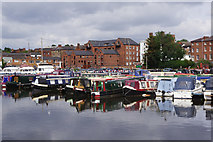 SO8171 : Canal Basin, Stourport on Severn by Stephen McKay
