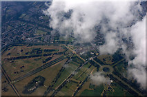 TQ1669 : Hampton Court Palace from the air by Thomas Nugent