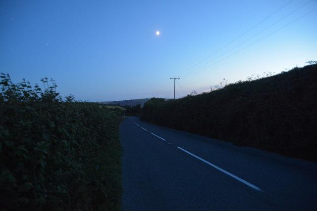 South Hams : Slappers Hill, B3205
