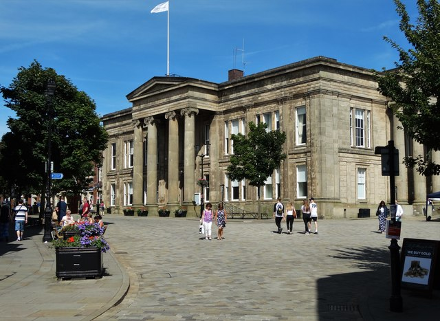 View to Macclesfield Town Hall