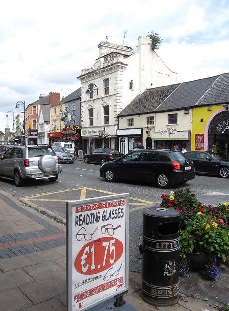Shops in Clanbrassil Street, Dundalk