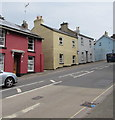 SX9373 : Colourful houses, Bitton Park Road, Teignmouth by Jaggery