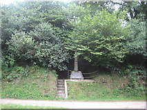 SS6243 : Kentisbury War Memorial by Anthony Vosper