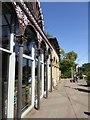 TQ1976 : Ironwork, Kew Gardens station by David Smith