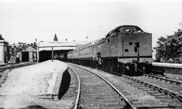 Lakeside, Windermere station, 1951