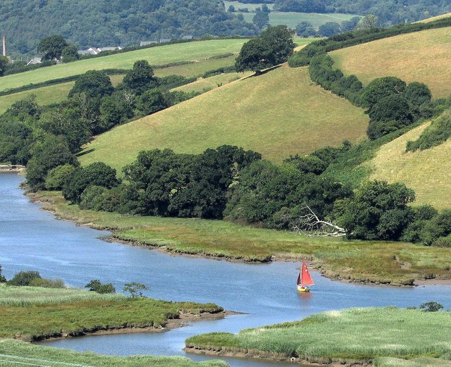River Dart from above Sharpham