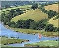 SX8158 : River Dart from above Sharpham by Derek Harper