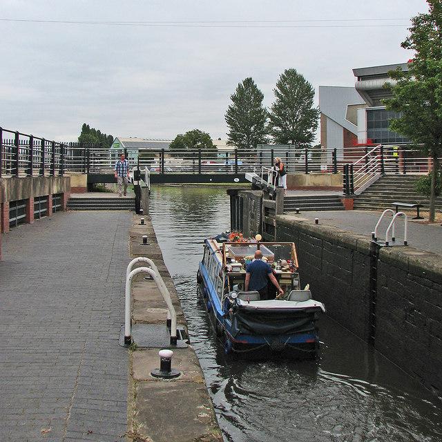 At Meadow Lane Lock