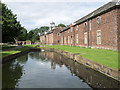 SJ7387 : The Moat at Dunham Massey by Trevor Littlewood