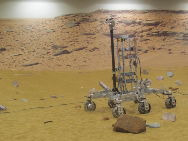 A Rover on Mars (at Stevenage)