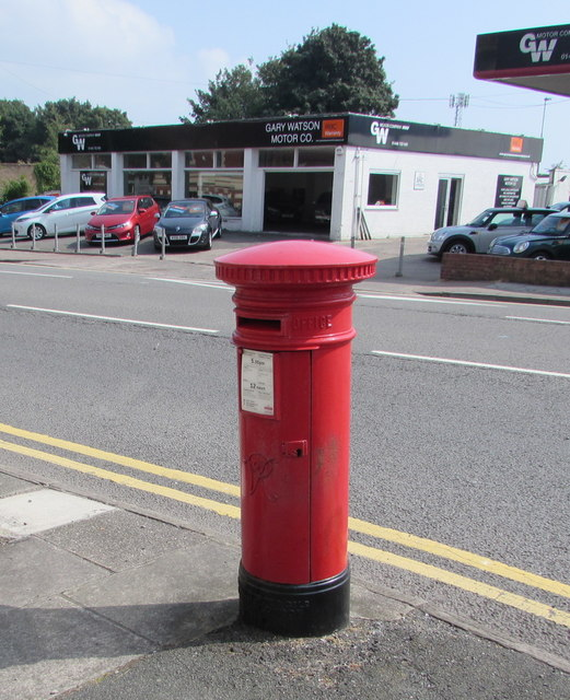 Victorian pillarbox, Broad Street, Barry