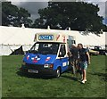 SJ7548 : Betley Show: ice-cream van by Jonathan Hutchins