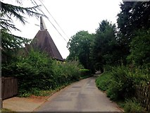 TQ6668 : Battle Street, Cobham by Chris Whippet