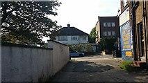 TQ2087 : Alley by Church Lane, Kingsbury by David Howard
