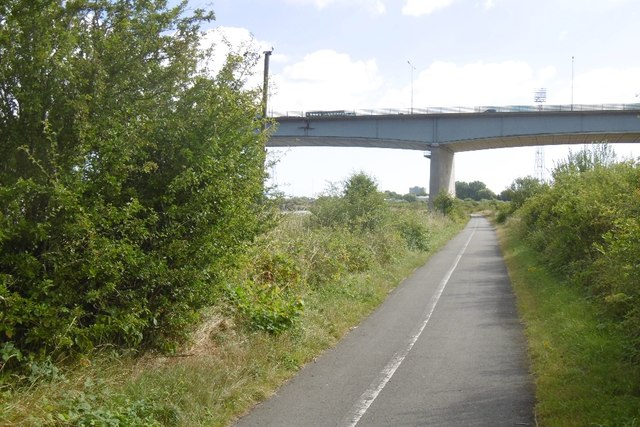 South Tees Cyclepath, Maze Park