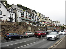 SX2553 : Guest houses, Station Road, Looe by Roger Cornfoot