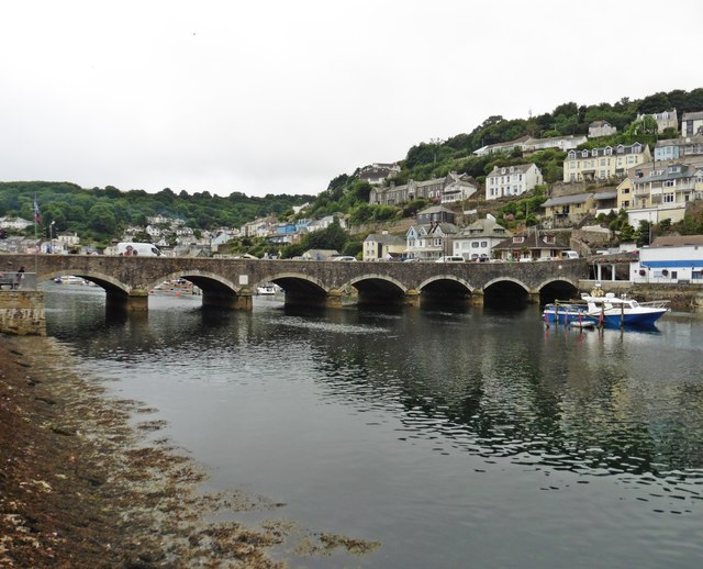 Bridge over Looe River