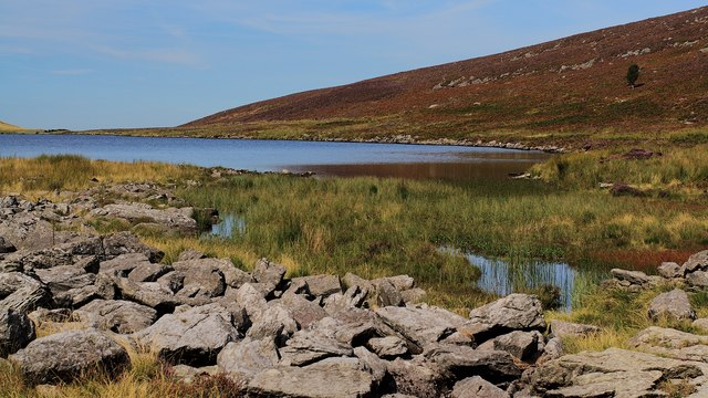 Llynnau Cwm Silyn northerly lake