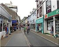 SX2553 : Fore Street, Looe by Roger Cornfoot