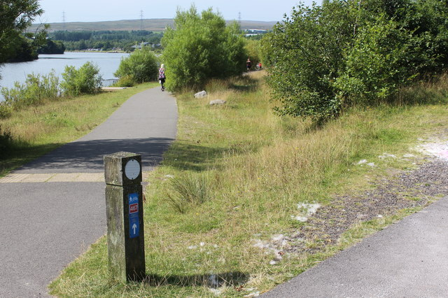 National Cycle Route 467, Bryn Bach Park, Tredegar